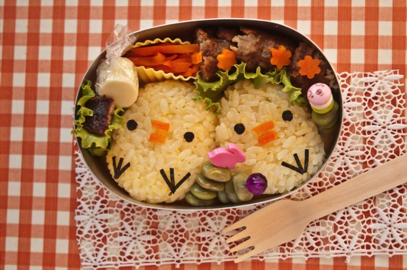 ilustrasi bekal makanan untuk si kecil
