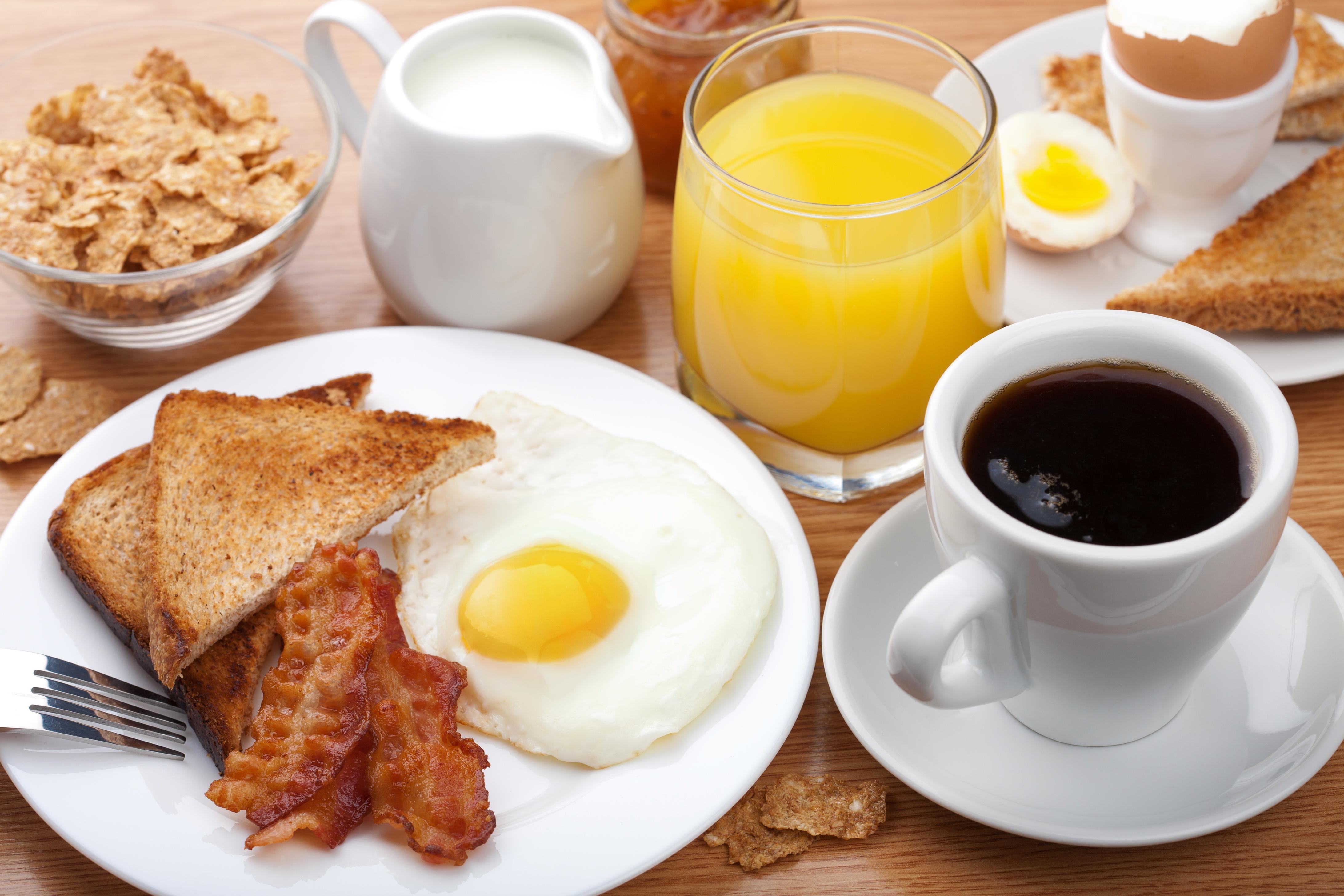 ilustrasi makanan untuk sarapan