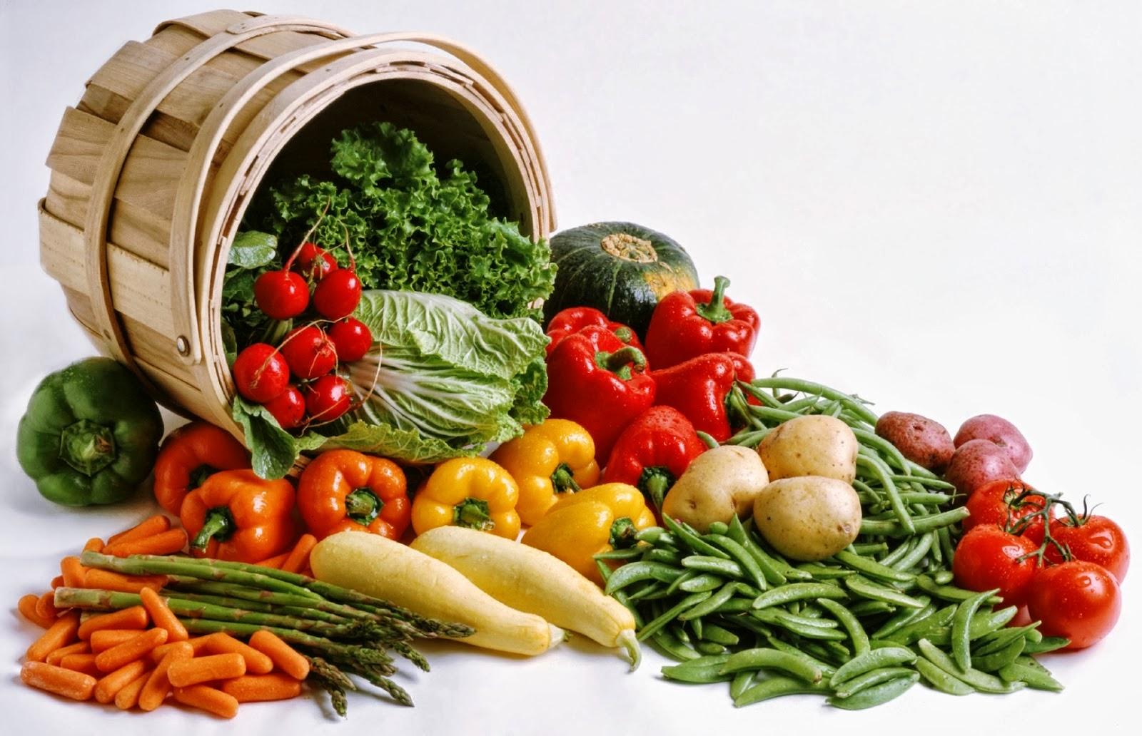 Sayuran Segar untuk Makanan Sahur dan Berbuka