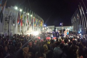 Pre-event Kampung GaSS 2 di Car Free Night