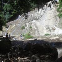 Curug Delapan Tingkat di Kampung Lembur Situ