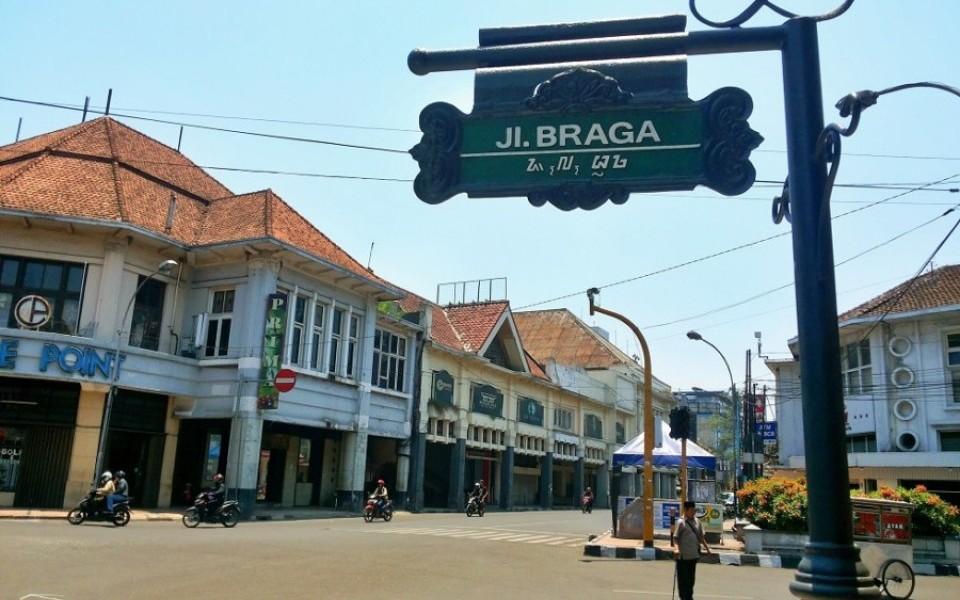 Braga, dari Jalan Culik Jadi 'Mini Eropa'
