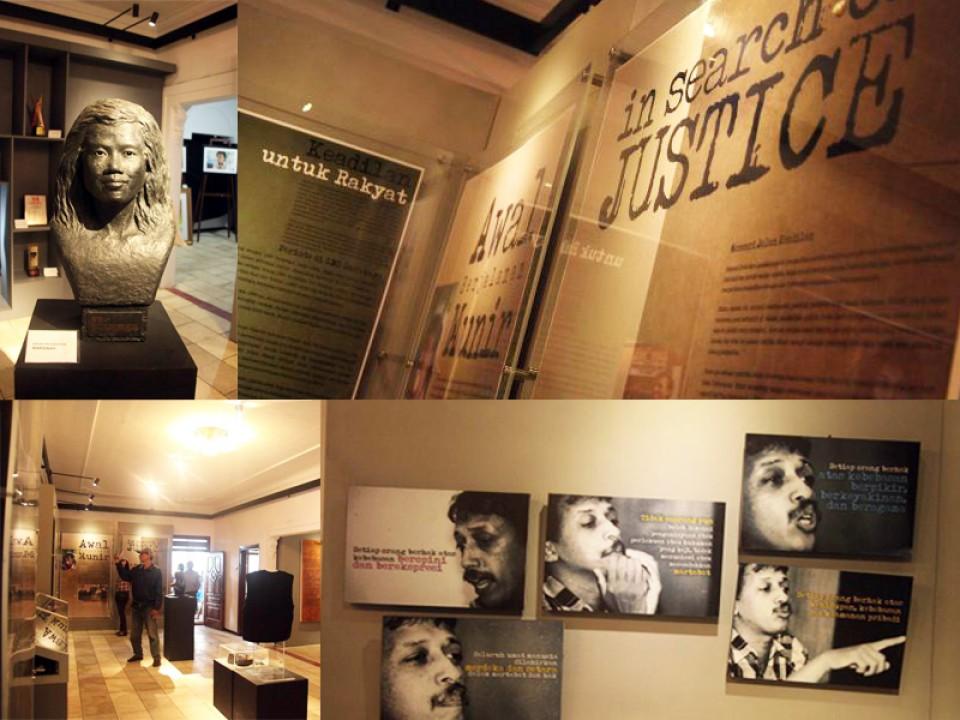 Mengingat Munir dari Museum HAM Pertama di Asia Tenggara!