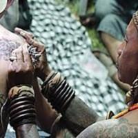 Tato Tertua Dunia Khas Mentawai Bagian 2