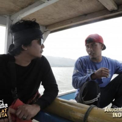 Keseruan Budi Cilok dan Sarah Saputri Menyusuri Desa Nelayan Ciwaru
